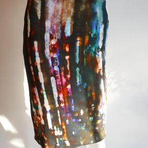 Alexander McQueen Body Con Summer Skirt